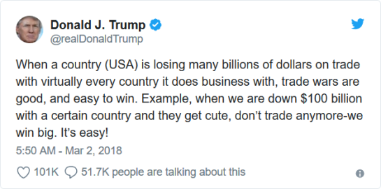 trade war tweet